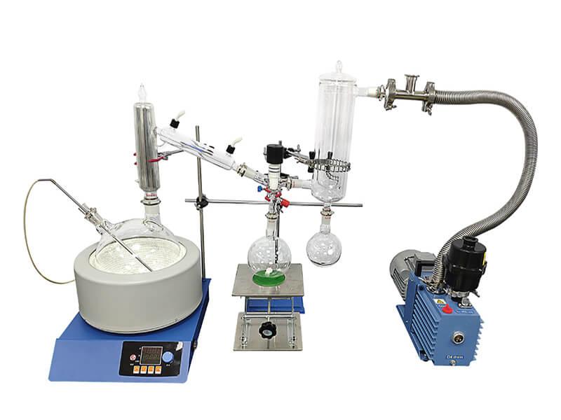 short path distillation